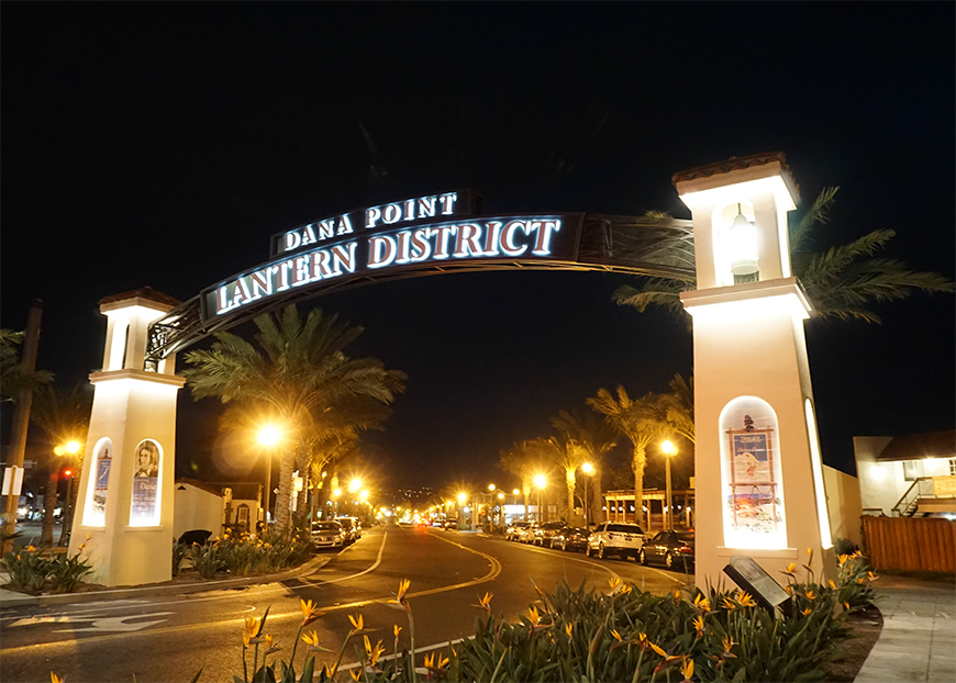 Dana Point Lantern District Dana Point Ca California