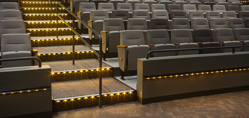 Movie Theater Lighting California Accent